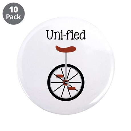 """Uni-fied 3.5"""" Button (10 pack)"""