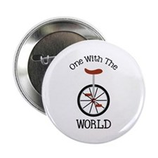 """One With The World 2.25"""" Button (100 pack)"""