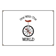 One With The World Banner