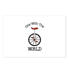 One With The World Postcards (Package of 8)