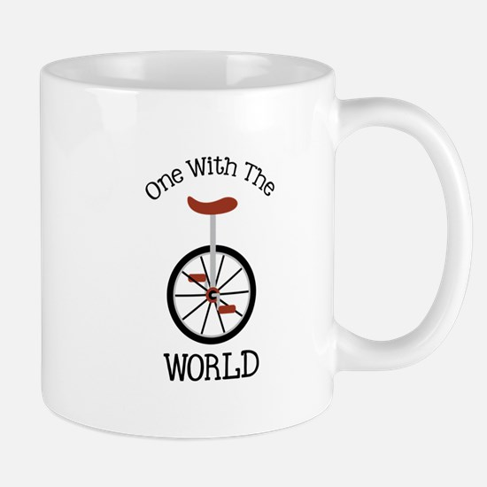 One With The World Mugs