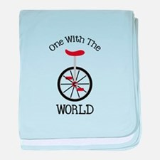 One With The World baby blanket