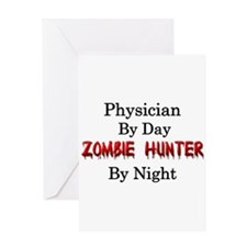 Physician/Zombie Hunter Greeting Card