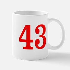 RED #43 Mug