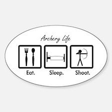 Eat. Sleep. Shoot. (Recurve) Decal