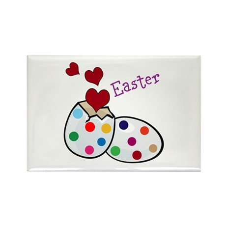Easter Rectangle Magnet