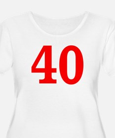 RED #40 T-Shirt