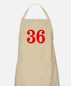 RED #36 Apron