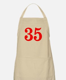 RED #35 Apron
