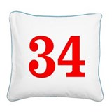 Hockey pillows Square Canvas Pillows