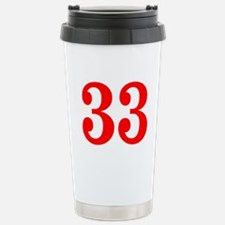 RED #33 Travel Mug