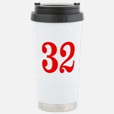 RED #32 Travel Mug