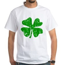 Green distressed shamrock T-Shirt