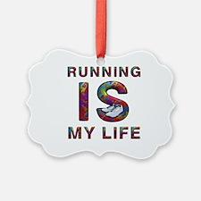 TOP Running Life Ornament