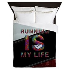 TOP Running Life Queen Duvet