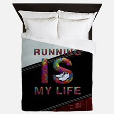 TOP Running Life Queen Duvet