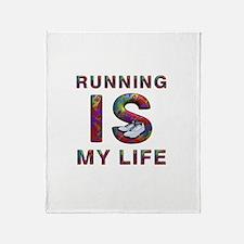 TOP Running Life Throw Blanket