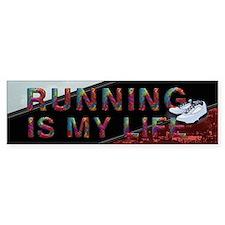 TOP Running Life Bumper Sticker