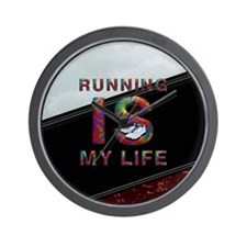 TOP Running Life Wall Clock