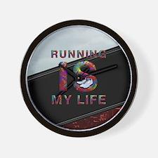 TOP Running Life Wall Clock