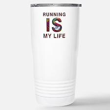 TOP Running Life Stainless Steel Travel Mug