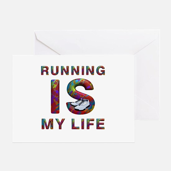 TOP Running Life Greeting Card