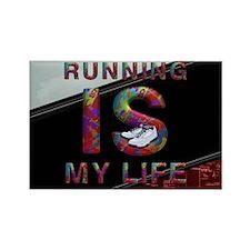 TOP Running Life Rectangle Magnet