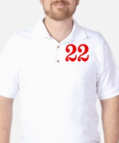 RED #22 T-Shirt