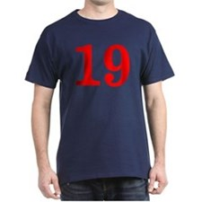 RED #19 T-Shirt