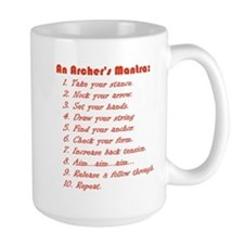 An Archers Mantra Mug
