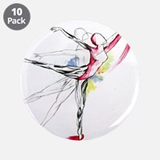 """Anatomy of Ballet 3.5"""" Button (10 pack)"""