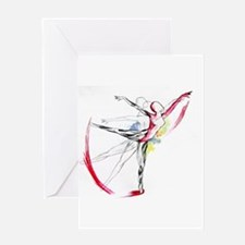 Anatomy of Ballet Greeting Cards