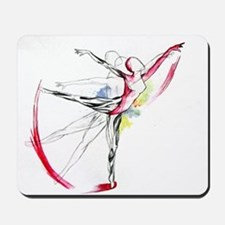 Anatomy of Ballet Mousepad