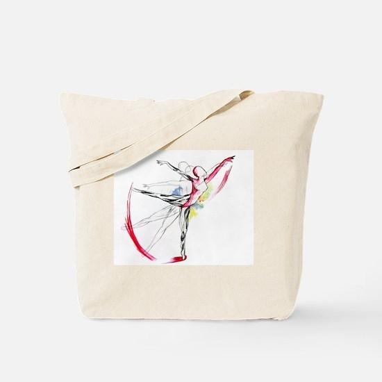 Anatomy of Ballet Tote Bag
