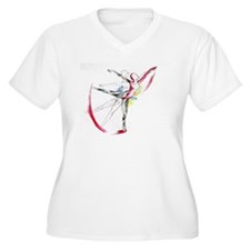 Anatomy of Ballet Plus Size T-Shirt