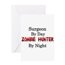 Surgeon/Zombie Hunter Greeting Card