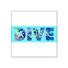 3-Aruba10x3_sticker Sticker