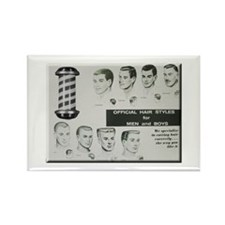 Official Hair Styles of the 50s Magnets