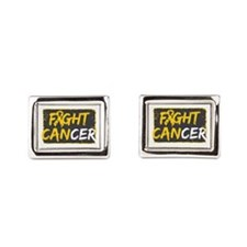 Fight Childhood Cancer Cufflinks