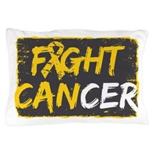 Fight Childhood Cancer Pillow Case