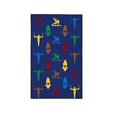 Mens Gymnastics 3'X5' Area 3'X5' Area Rug