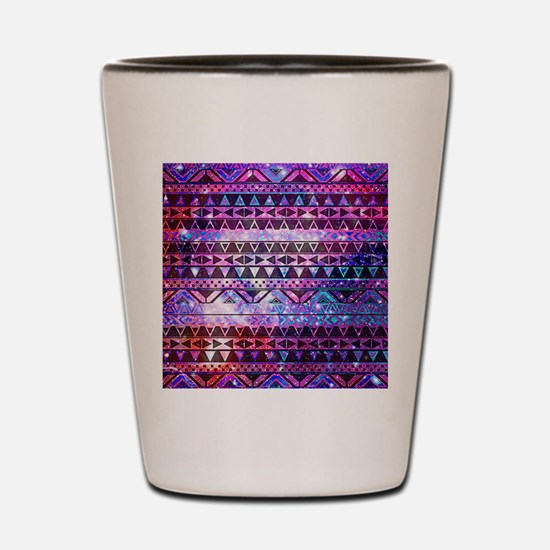 Aztec Tribal Design Shot Glass