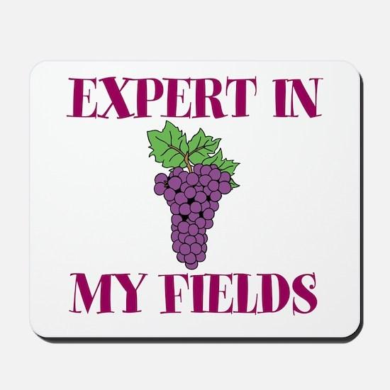 Expert in My Fields Mousepad