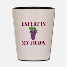 Expert in My Fields Shot Glass