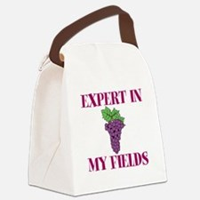 Expert in My Fields Canvas Lunch Bag