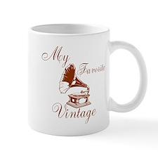 My Favorite Vintage Mugs