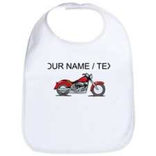 Custom Red Motorcycle Bib