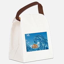 Noahs Ark Canvas Lunch Bag