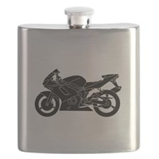 Black Crotch Rocket Flask