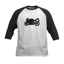 Black Crotch Rocket Baseball Jersey
